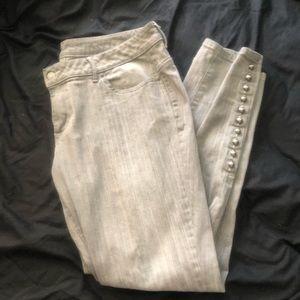 Grey Victoria's Secret Jeans